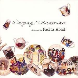 Pacita Abad: Wayang Dinnerware: Pacita Abad: Books