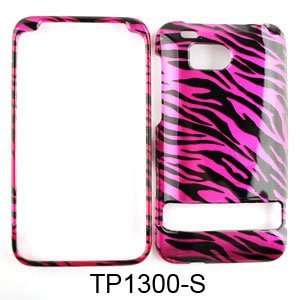 HTC Incredible HD Transparent Design, Hot Pink Zebra Print