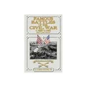 Famous Battles of the Civil War Playing Cards Toys & Games