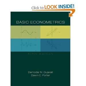 Basic Econometrics (9780073375779): Damodar Gujarati, Dawn