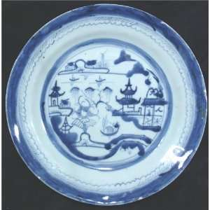 18TH CENTURY CHINESE EXPORT DINNER PLATE