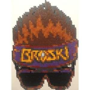 Zack Ryder Broski Logo Bead Sprite