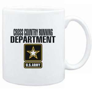 Mug White  Cross Country Running DEPARTMENT / U.S. ARMY  Sports
