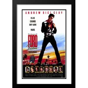 Adventures of Ford Fairlane 32x45 Framed and Double Matted