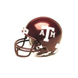 Texas A&M Aggies Miniature Replica NCAA Helmet w/Z2B Mask