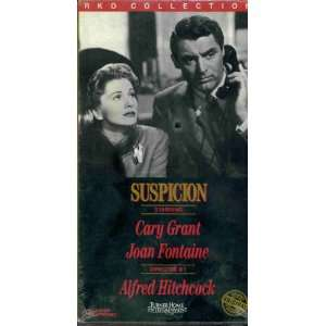 Suspicion VHS RKO Collection: Joan Fontaine Cary Grant