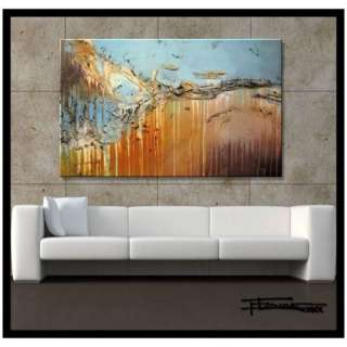 , Ready to hang. Modern Art. FROM ABOVE   ELOISExxx Home & Kitchen