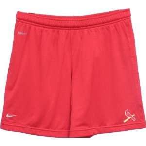 Women`s St. Louis Cardinals Red Shorts