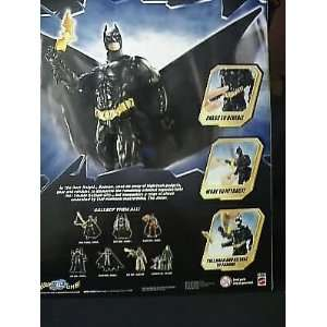DARK KNIGHT BATMAN ACTION FIGURE: Office Products
