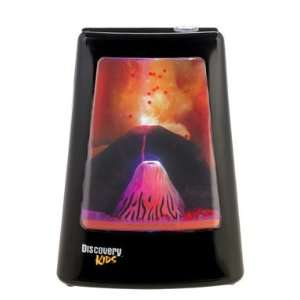 Discovery Kids Animated Lamp   Volcano Home Improvement