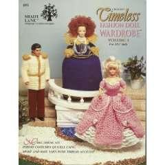 Timeless Fashion Doll Wardrobe (Crochet) (Volume 1) Books