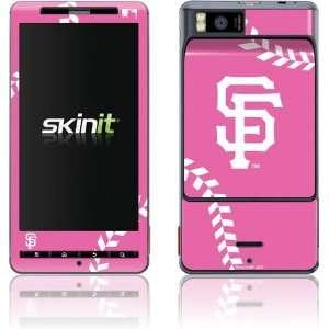 San Francisco Giants Pink Game Ball skin for Motorola