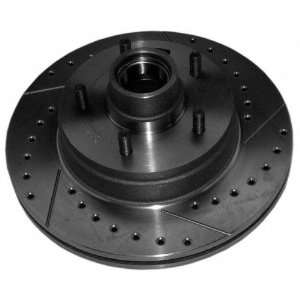 Aimco Extreme 5577RX Severe Duty Right Front Disc Brake Rotor and Hub