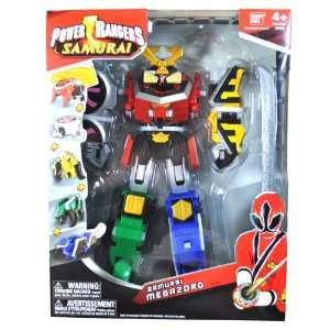 Bandai Year 2011 Power Rangers Samurai Series 11 Inch Tall SAMURAI