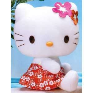 HELLO KITTY Summer Dress Plush 12 RARE imported from
