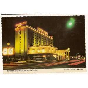Ormsby House Hotel and Casino Carson City Nevada Postcard