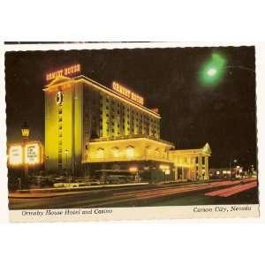 Ormsby House Hotel and Casino Carson City Nevada Postcard