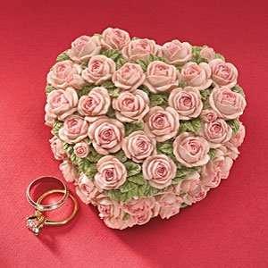 Heart Shaped Rose Box