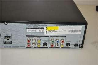 PANASONIC DMR EZ48V VHS/DVD RECORDER COMBO W/ HD TUNER HDMI 1080p