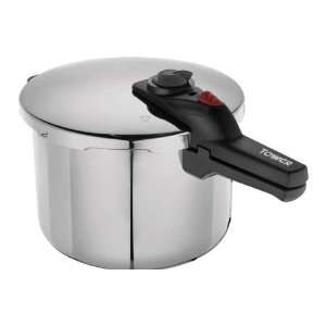 Tower 6 Litre Pressure Cooker   Stainless Steel with Automatic locking