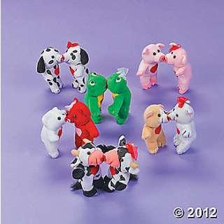 Plush Valentine Magnetic Kissing Animals, Plush, Novelty Toys, Toys