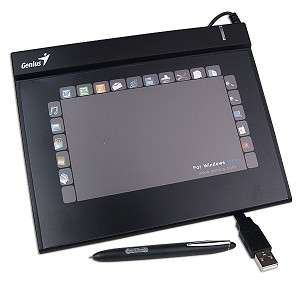 Genius G Pen F350 3x5 USB Graphics Tablet w/Cordless Stylus G Pen F350