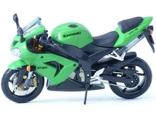 Kawasaki ZX 10R Ninja (Kit) Diecast Model Motorbike by Maisto 39055G