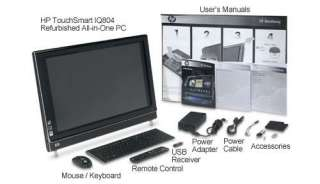 HP TouchSmart IQ804 KT457AA Refurbished All in One at CircuitCity