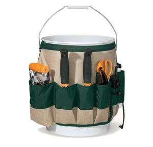 Fiskars 9424 Garden Bucket Caddy w/Lawn Care Tools !