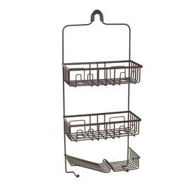 Shop allen + roth Oil Rubbed Bronze Shower Caddy at Lowes