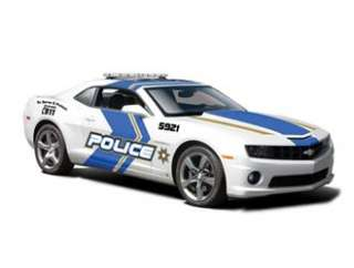 Camaro SS RS Police Unit (2010) in White (124 scale by Maisto 31208