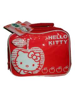 Hello Kitty Retro Insulated Lunch Bag