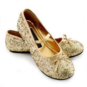Sparkle Ballerina Shoes (Gold) Child, 62740