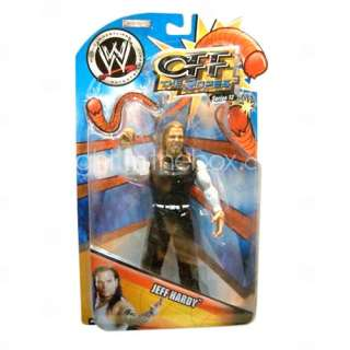 wwe wrestling professionnels Jeff Hardy action figure à la case de