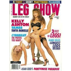 Leg Show February 2001 Kelly Ashton, Tanya Danielle: LEG SHOW: Books