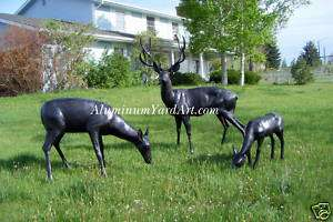 Animal Yard Art, Life Size Animals, Metal Animals, Deer