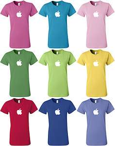 APPLE T shirt Computer GEEK shirt Mac cool WOMENS Tee