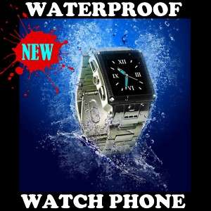 LOT WHOLESALE 3 Watch Cell Phone MOBILE Waterproof ATT Unlocked