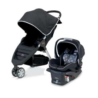 Britax B Agile Travel System Stroller + Car Seat Baby Safety Gear
