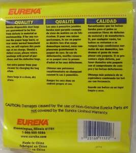 Pack of 3 eka 61715 Canister Vacuum Cleaner Bags L Series 960