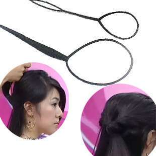 FAST US SHIPPING Topsy Tail Hair Braid Ponytail Styling Maker Pin L+S