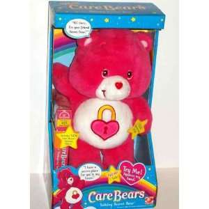 Care Bears Talking Secret Bear with VHS: Toys & Games