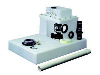 BURCAM Easy Flush Toilet System 1/2 HP 115V 450475