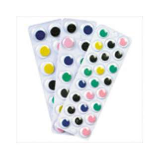 Chenille Kraft Company Peel N Stick Wiggle Eyes On Sht