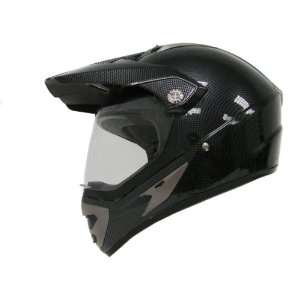 Carbon Fiber Motocross Motorcycle Utv Dual Sport Hybrid Helmet