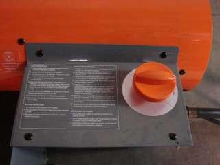 Dyna Glo 40,000 btu portable forced air propane heater tube