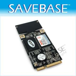 KINGSPEC 64GB SATA MINI PCI E MLC SSD ASUS Eee Pc S101