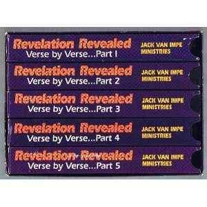Revealed Verse by Verse 5 VHS Tapes: Dr. Jack Van Impe: Books