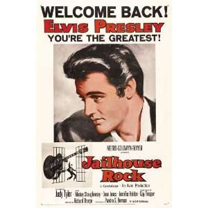 Poster B 27x40 Elvis Presley Judy Tyler Vaughn Taylor: Home & Kitchen