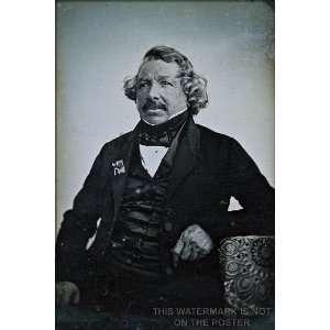 Louis Daguerre, c1844   24x36 Poster